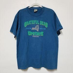 Vintage Grateful Dead Upstate Tour Tshirt Large